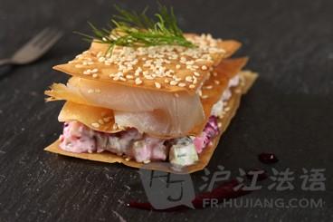 法语不是_红河甜点:入门美食的千层酥-比目鱼法国河口美食