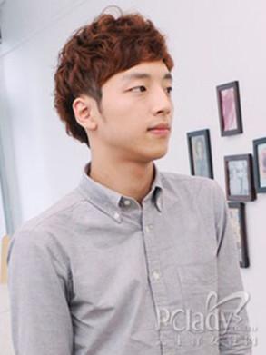 2014最新时尚韩国男生短发发型