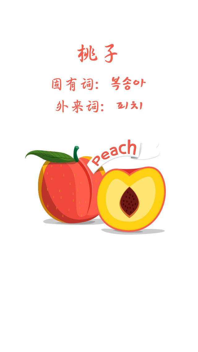 常见水果用韩语怎么说?