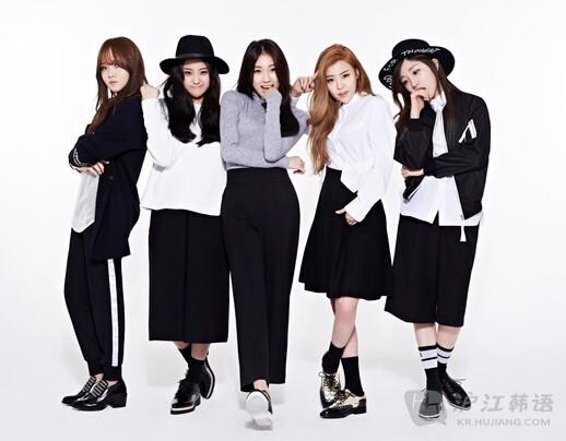 韩国新生代女子组合青春大出动