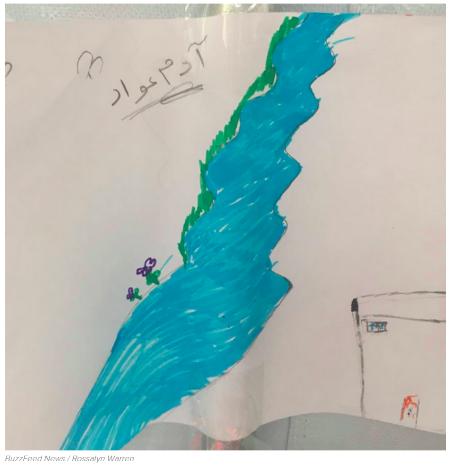 德语新闻:来自难民儿童的画作