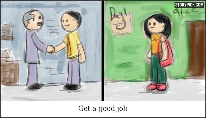 脸书上9万人点赞的哲理漫画:人生的意义