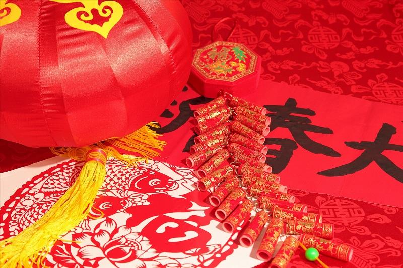 欢乐春节简笔画ppt