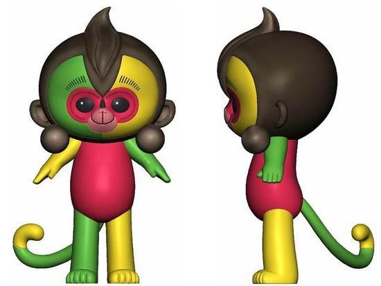 """猴年春晚吉祥物""""康康""""被吐槽  丑爆了?"""