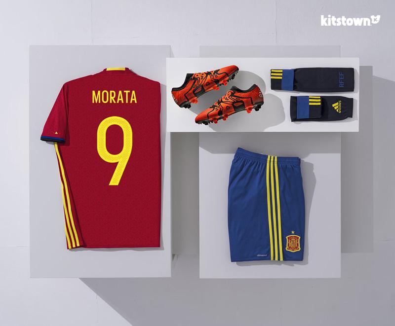 欧洲杯西班牙队球服