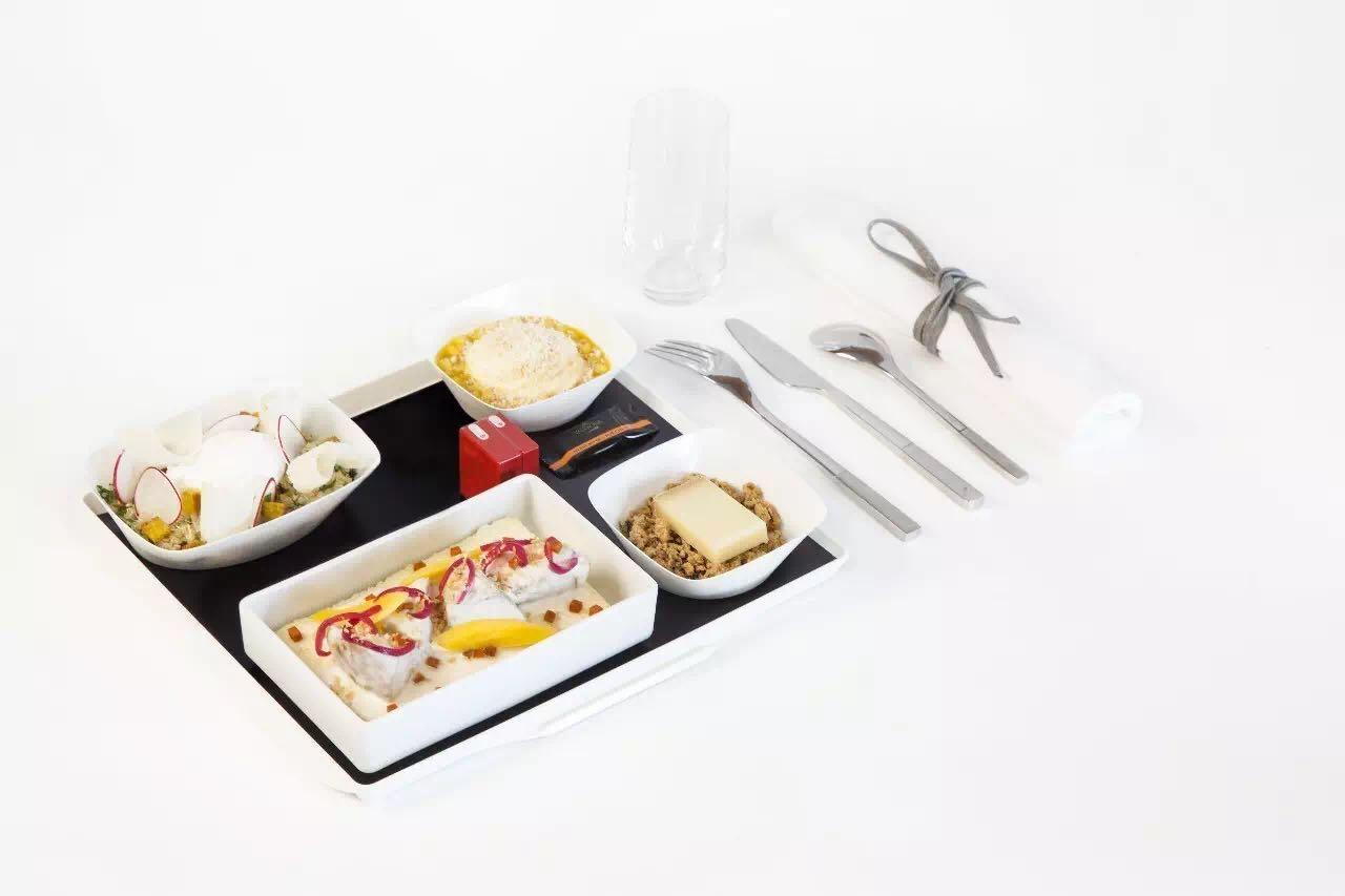 这真的是法航飞机餐:没有对比就没有伤害
