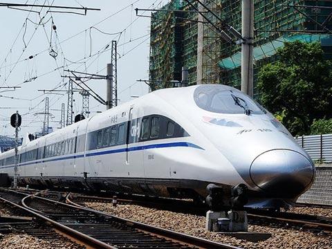 其乘坐的高铁列车始发站为上海虹桥