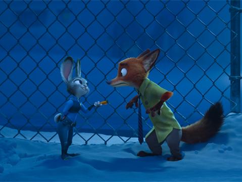 《疯狂动物城》是迪士尼影业出品的一部3d动画片