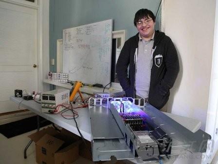 17岁辍学创业者发明新型计算机                   _英语阅读